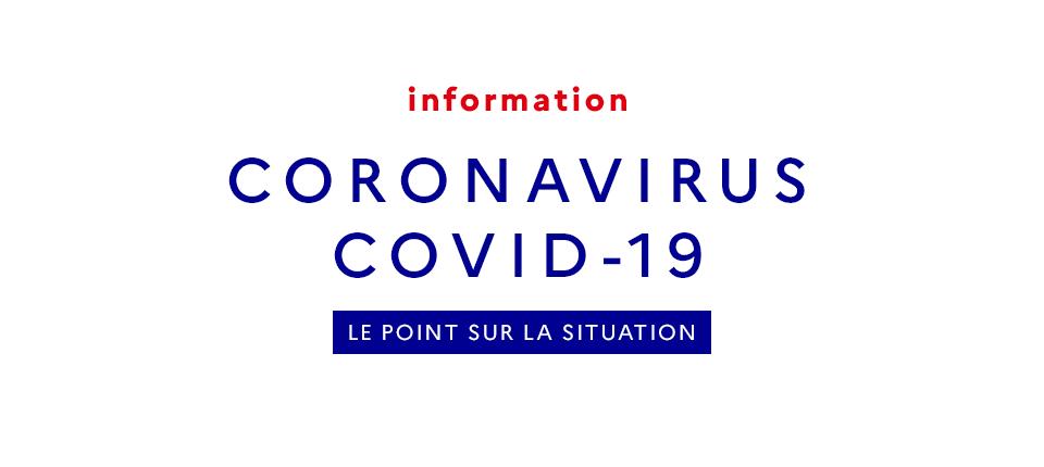 Épidémie de Coronavirus : dispositif et mesures mises en place à La Réunion.