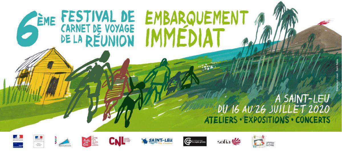 Festival du Carnet de voyage de La Réunion à Saint-Leu