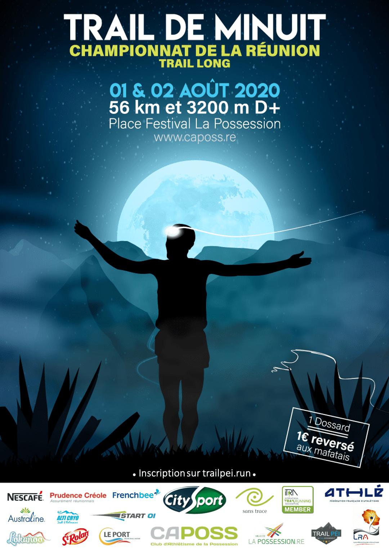 Le Trail de Minuit à Mafate