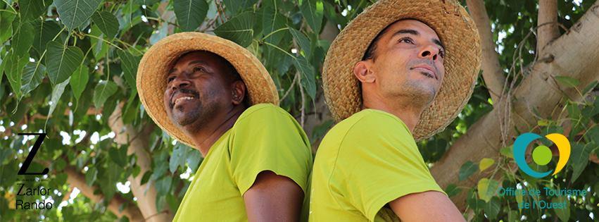 Clovis et Mathieu guides dans l'Ouest de La Réunion