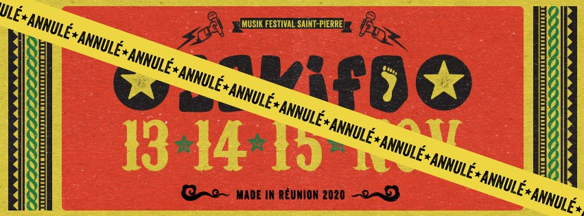 Festival Sakifo Réunion 2020 – ANNULÉ